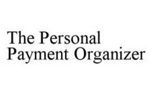 THE PERSONAL PAYMENT ORGANIZER
