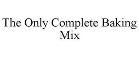THE ONLY COMPLETE BAKING MIX