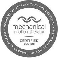 · MECHANICAL MOTION THERAPY CERTIFIED · MECHANICAL MOTION THERAPY CERTIFIED DOCTOR