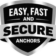 EASY, FAST AND SECURE ANCHORS