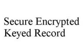 SECURE ENCRYPTED KEYED RECORD
