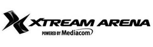 X XTREAM ARENA POWERED BY MEDIACOM