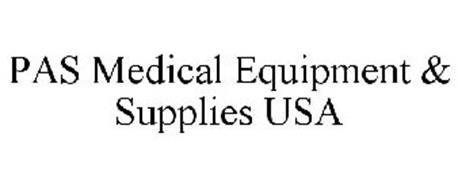 PAS MEDICAL EQUIPMENT & SUPPLIES USA