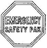 EMERGENCY SAFETY PAK