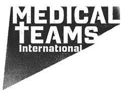 MEDICAL TEAMS INTERNATIONAL
