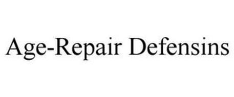AGE-REPAIR DEFENSINS