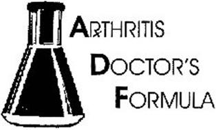 ARTHRITIS DOCTOR'S FORMULA