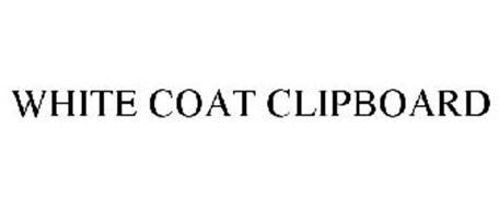 WHITE COAT CLIPBOARD