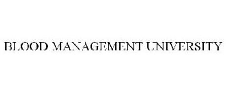 BLOOD MANAGEMENT UNIVERSITY