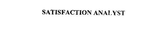 SATISFACTION ANALYST