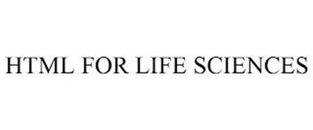 HTML FOR LIFE SCIENCES