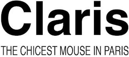 CLARIS THE CHICEST MOUSE IN PARIS