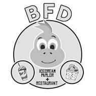 B F D ICECREAM PARLOR + RESTAURANT