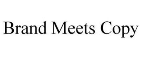 BRAND MEETS COPY