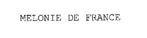 MELONIE DE FRANCE