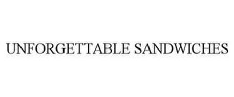 UNFORGETTABLE SANDWICHES