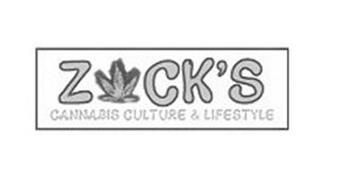 ZCK'S CANNABIS CULTURE & LIFESTYLE
