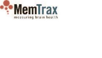MEMTRAX MEASURING BRAIN HEALTH