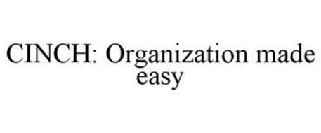 CINCH: ORGANIZATION MADE EASY