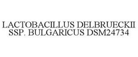 LACTOBACILLUS DELBRUECKII SSP. BULGARICUS DSM24734