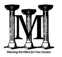 M PLANNING THE PILLARS FOR YOUR SUCCESS