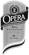 OPERA WHITE AMARETTO WITH REAL ALMONDS DAL 1952 B BELTION
