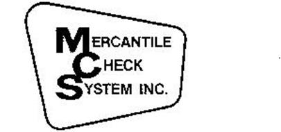 MERCANTILE CHECK SYSTEM INC.