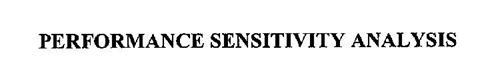 PERFORMANCE SENSITIVITY ANALYSIS