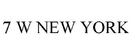 7 W NEW YORK