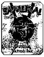 SAMURAI OUTLINE TATTOO INK