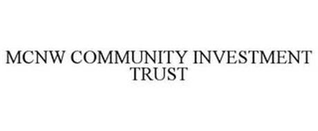 MCNW COMMUNITY INVESTMENT TRUST