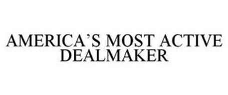 AMERICA'S MOST ACTIVE DEALMAKER