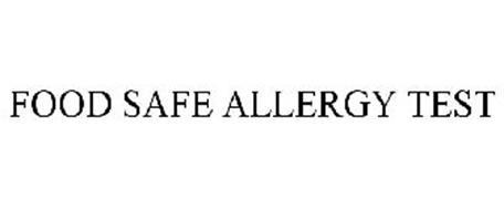 FOOD SAFE ALLERGY TEST