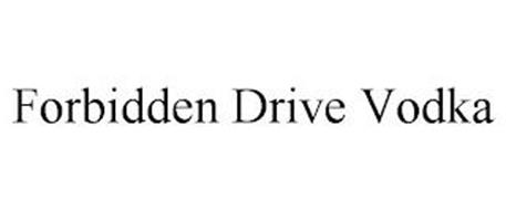 FORBIDDEN DRIVE VODKA