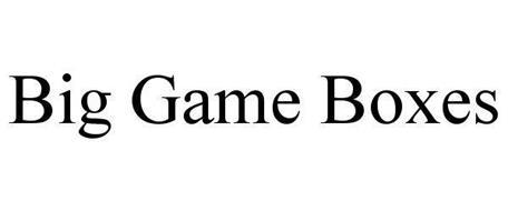 BIG GAME BOXES