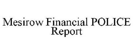MESIROW FINANCIAL POLICE REPORT