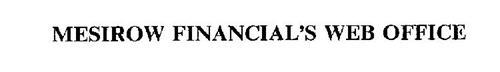 MESIROW FINANCIAL'S WEB OFFICE