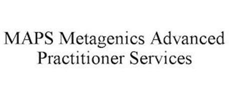 MAPS METAGENICS ADVANCED PRACTITIONER SERVICES