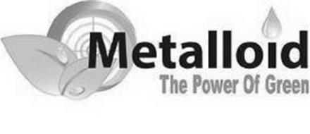 METALLOID THE POWER OF GREEN