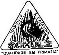 "SCHULZ JOINVILLE S. CATARINA ""QUALIDADE EM PRIMAZIA"""