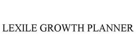 LEXILE GROWTH PLANNER