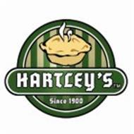 HARTLEY'S SINCE 1900
