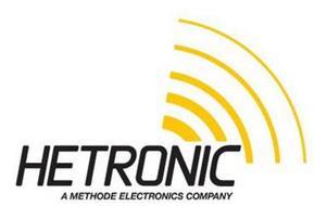 HETRONIC A METHODE ELECTRONICS COMPANY