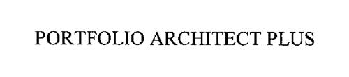 PORTFOLIO ARCHITECT PLUS