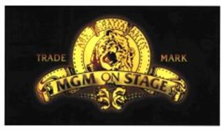 mgm on stage ars gratia artis trademark of metro goldwyn mayer lion corp serial number. Black Bedroom Furniture Sets. Home Design Ideas