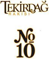 TEKIRDAG RAKISI NO. 10
