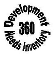 360 DEVELOPMENT NEEDS INVENTORY