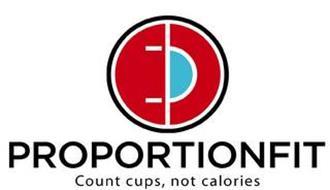 PROPORTIONFIT COUNT CUPS, NOT CALORIES