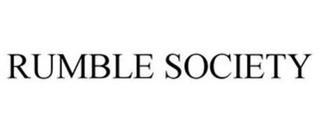 RUMBLE SOCIETY