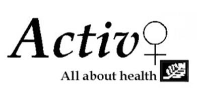 ACTIV ALL ABOUT HEALTH